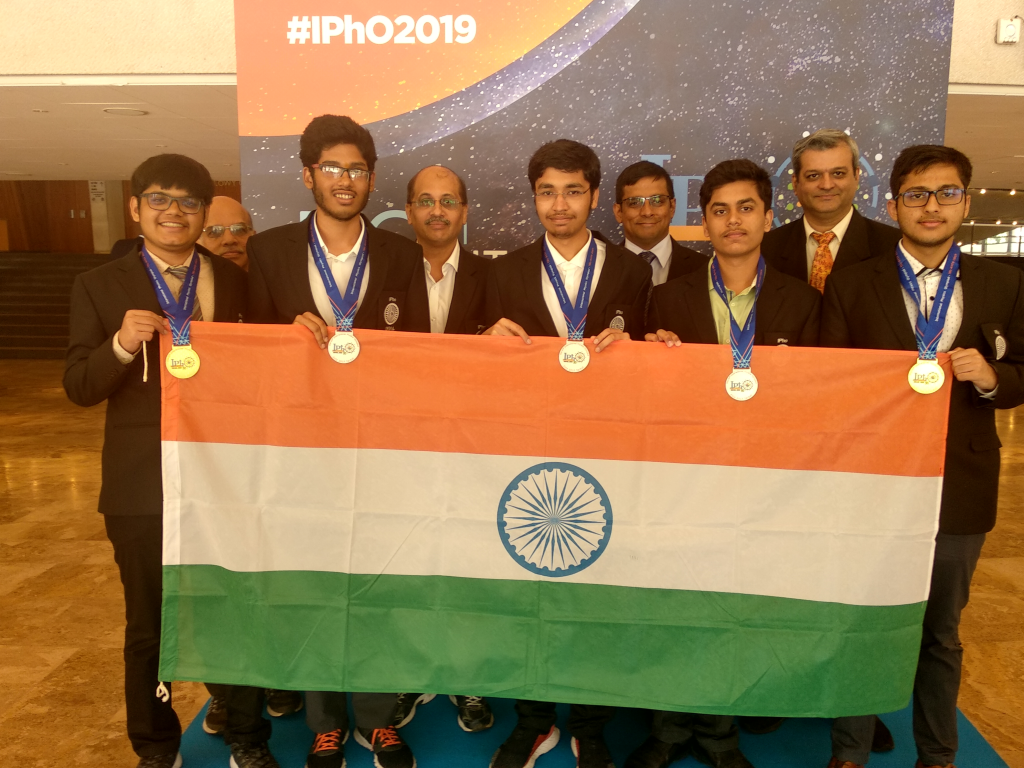 India shines at the International Olympiads 2019 – Olympiads